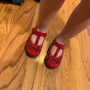 Other - Toddler red dress shoes
